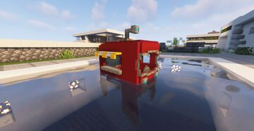 Boats to Mobile Krusty Krab !! Minecraft Texture Pack