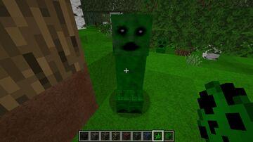 Creepy Creeper Minecraft Texture Pack