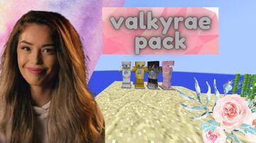 valkyrae  pack 1.7.1 updated Minecraft Texture Pack