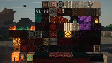 S&K Photo Realism Nether Addon 2048x POM 32GB+ Minecraft Texture Pack
