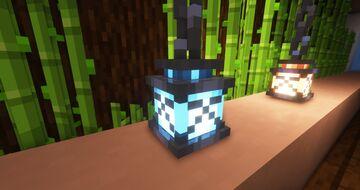 Better lanterns, 3D lanterns and chains !! (no optifine) Minecraft Texture Pack