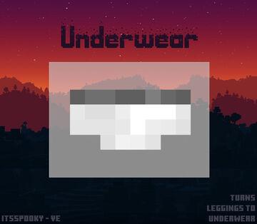 Underwear Minecraft Texture Pack