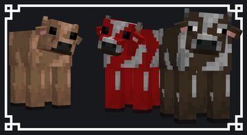 Cows Reimagined Minecraft Texture Pack