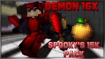 Demon 16x [SpookyYT's 15k pack] [1.8.9] Minecraft Texture Pack