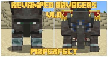 PixPerfect's Revamped Ravagers (Optifine) Minecraft Texture Pack