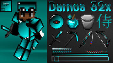 Darnos 32x PvP Texture pack Bedrock Minecraft Texture Pack