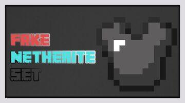Fake Netherite Set Minecraft Texture Pack