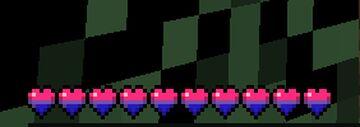 Bienkie's Bi Pride Hearts (1.16x)(LGBTQIA+) Minecraft Texture Pack