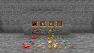 Powder Ore (Raw ore retextured) Minecraft Texture Pack