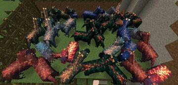 Velociraptor Horse Pack Minecraft Texture Pack