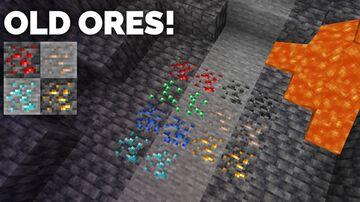 Minecraft Pre 1.17 ores Minecraft Texture Pack