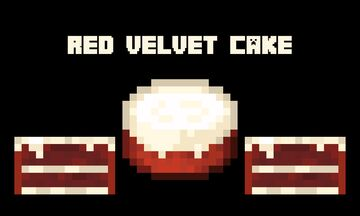 Red Velvet Cake Minecraft Texture Pack