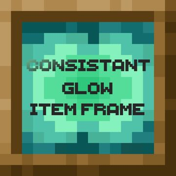 Consistent Glow Item Frames Minecraft Texture Pack
