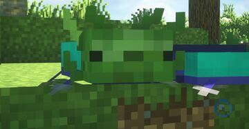 Mob axolotls! Minecraft Texture Pack