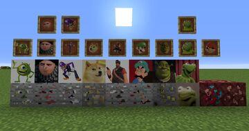 Meme Pack v2 Minecraft Texture Pack
