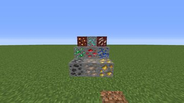 1.17 ore texture in 1.16 Minecraft Texture Pack