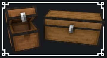 Chests Reimagined Minecraft Texture Pack