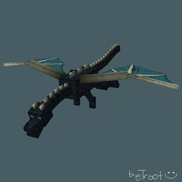 Sculk EnderDragon Minecraft Texture Pack