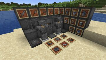 Szlimak's Better Iron Minecraft Texture Pack