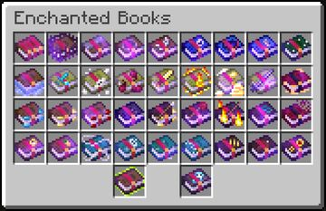 Visual Enchantments: Books [OptiFine] Minecraft Texture Pack