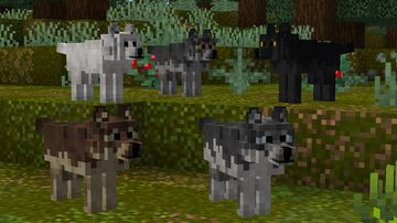 Better wolves (standalone version) Minecraft Texture Pack