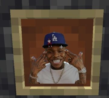 Dababy totem Minecraft Texture Pack