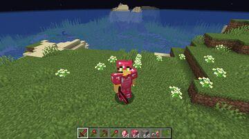 Red diamonds 1.16.5 Minecraft Texture Pack