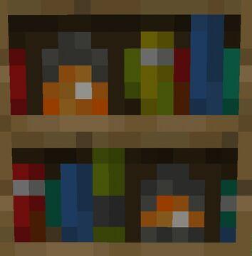Bookshelf+ | Minecraft Bedrock Minecraft Texture Pack
