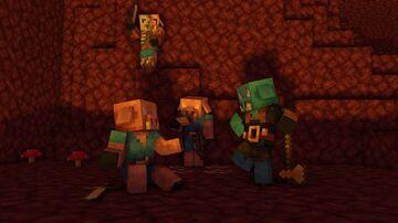 Zelda Nether Mobs Minecraft Texture Pack