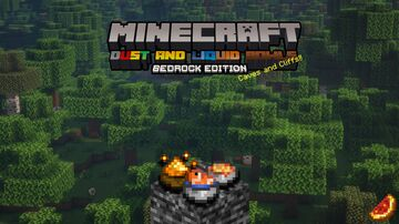 Dust & Liquid Bowls - Bedrock Minecraft Texture Pack