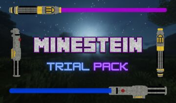 Minestein's 3D Lightsabers (Trial Edition) Minecraft Texture Pack