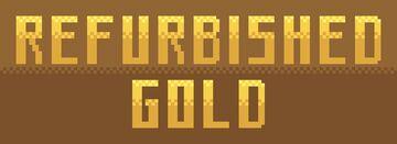 Refurbished Gold Minecraft Texture Pack