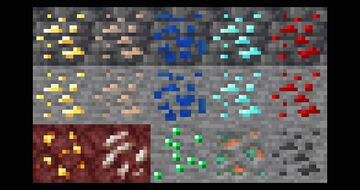 Reverted Ores Minecraft Texture Pack