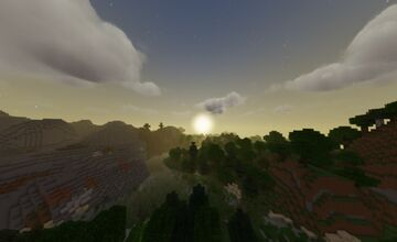 round sun, moon, & rain Minecraft Texture Pack