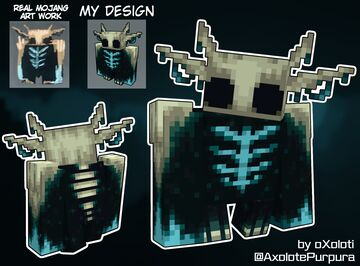 IronGolem to HollowWarden (rejected mojang concept art) Minecraft Texture Pack