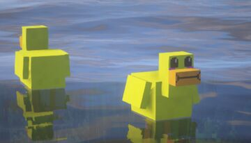 Cute chickens Minecraft Texture Pack