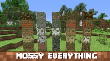 [No Optifine] Add moss to everything that you want Minecraft Texture Pack