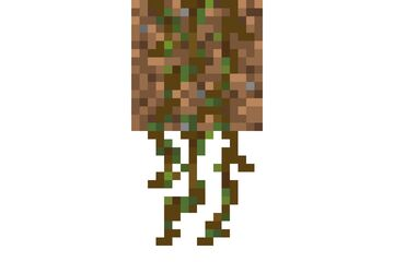 Different Hanging Roots Minecraft Texture Pack