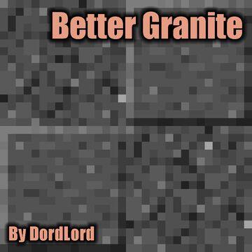 Better Granite Minecraft Texture Pack