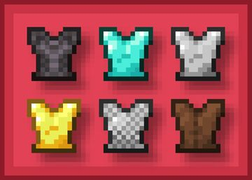 Chestplate to Breastplate - Java Minecraft Texture Pack