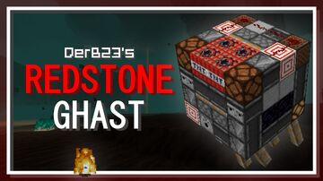 Redstone Ghast Minecraft Texture Pack