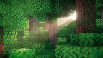 RTX loading screen Minecraft Texture Pack
