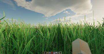 Realistic Grass Minecraft Texture Pack