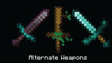 Alternate Weapons | 1.17 Minecraft Texture Pack