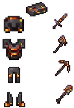 Better Netherite Armor and Weapons Minecraft Texture Pack