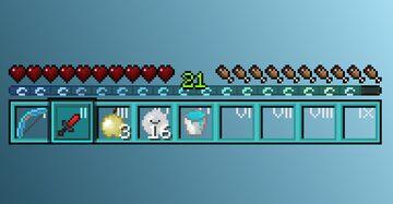 Ocean 16x16 custom GUI Minecraft Texture Pack