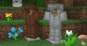 Fully dyed leather armor! Minecraft Texture Pack