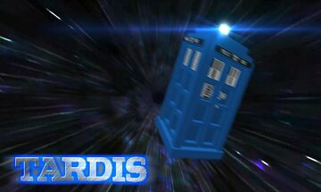 TARDIS - 3D Model Minecraft Texture Pack