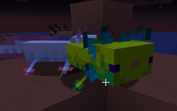 Pink Dolphins AND Other Axolotls Minecraft Texture Pack