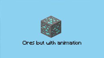 𝗢𝗿𝗲𝘀 𝗯𝘂𝘁 𝘄𝗶𝘁𝗵 𝗮𝗻𝗶𝗺𝗮𝘁𝗶𝗼𝗻 Minecraft Texture Pack